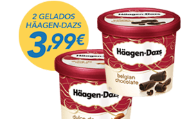 2 Gelados Häagen-Dazs